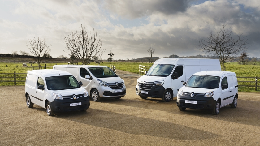 Renault offers 'Drive now, Pay later' across PRO+ LCV range